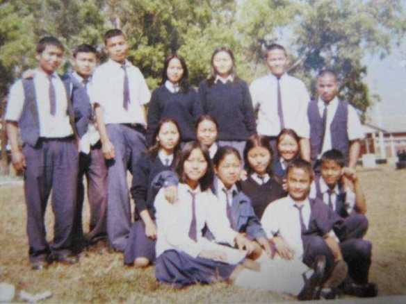 Class XII, Sielmat Christian Hr. Sec. SchoolMe?  Standing, 2nd from rignt.. :D