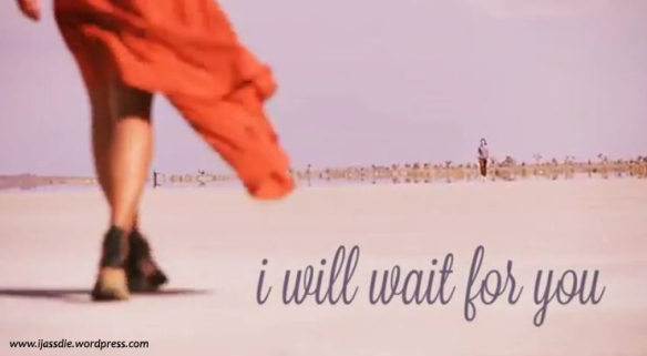 Snip from the official video of  'I will wait for you' by Carissa Rae & Michael Alvarado
